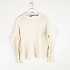 Pure Cashmere Cream Pullover Sweater Size 18